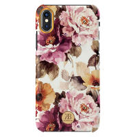 Чехол Kingxbar Blossom Series для iPhone X/Xs Peony